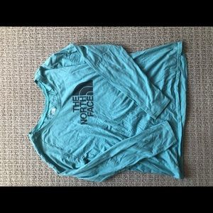 North Face long sleeve shirt